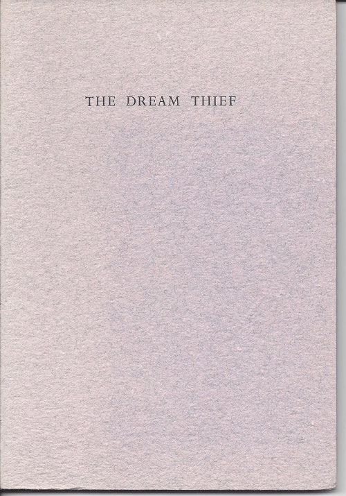 THE DREAM THIEF. Lynne Burris Butler.