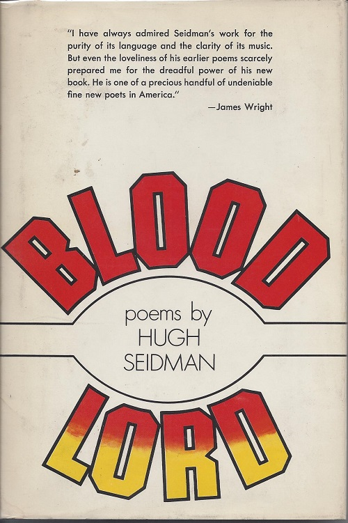 BLOOD LORD. Hugh Seidman.