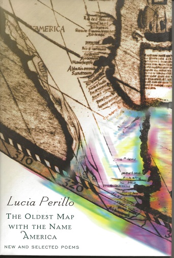 THE OLDEST MAP WITH THE NAME AMERICA. Lucia Perillo.