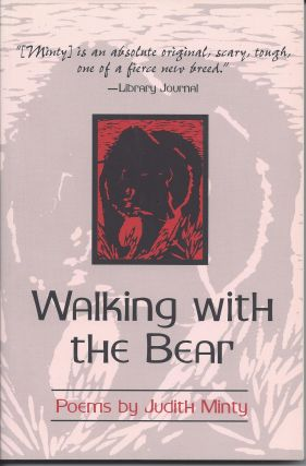 WALKING WITH THE BEAR. Judith Minty, Paul Zimmer