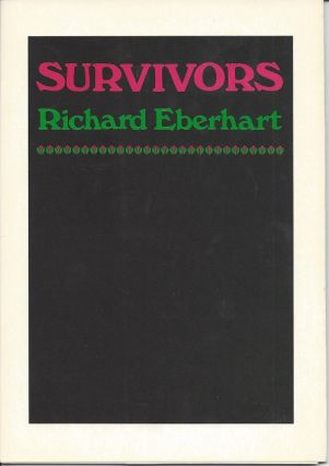 SURVIVORS. Richard Eberhart