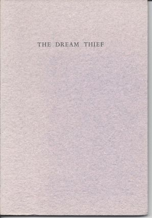 THE DREAM THIEF. Lynne Burris Butler