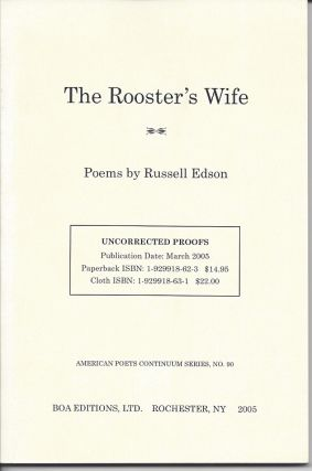 THE ROOSTER'S WIFE. Russell Edson