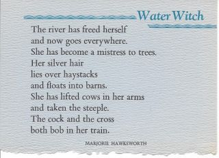 WATER WITCH. (Broadside.). Marjorie Hawksworth