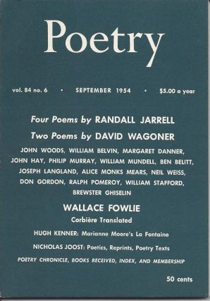 POETRY. Randall Jarrell, David Wagoner