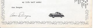 THE CAR HALF UNDER. (Broadside.)