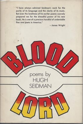 BLOOD LORD. Hugh Seidman