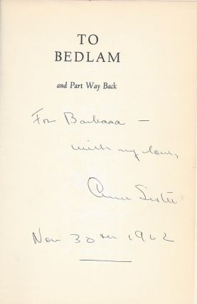 TO BEDLAM AND PART WAY BACK.